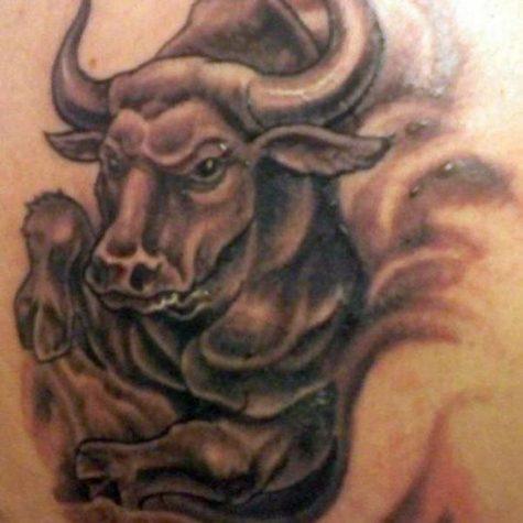 bull tattoo 729x950 00000756 475x475 - Bull tattoo