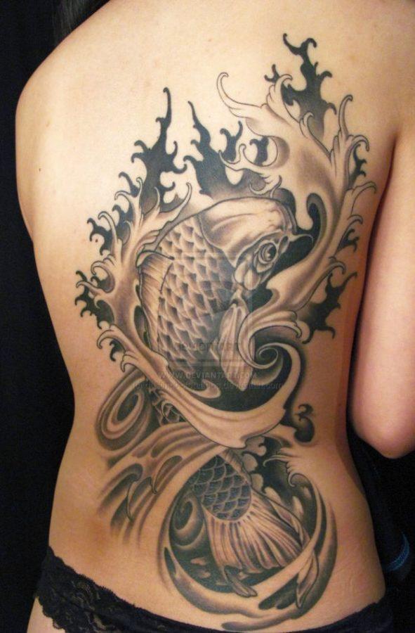 fish tattoo 624x950 00006436 591x900 - Fish tattoo