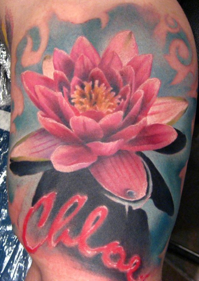 lotus tattoo 673x950 00009903 638x900 - Lotus tattoo