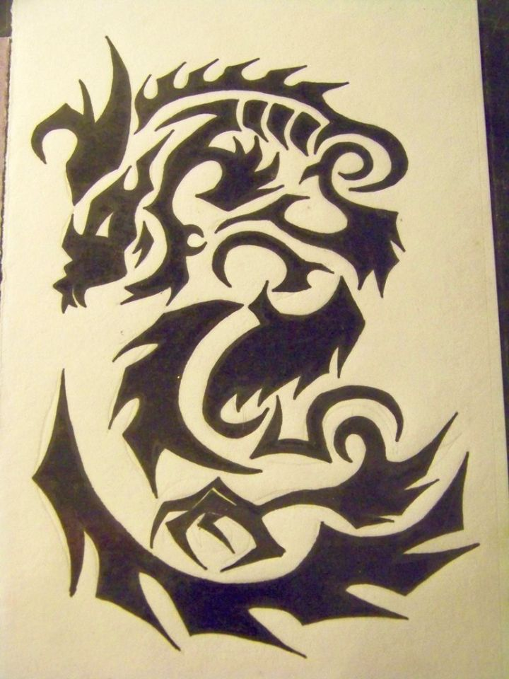 tribal dragon tattoo 720x960 00018946 - tribal-dragon-tattoo_720x960_00018946