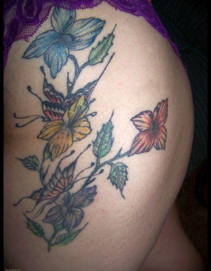 tribal flower tattoo 420x540 00018989 - tribal-flower-tattoo_420x540_00018989