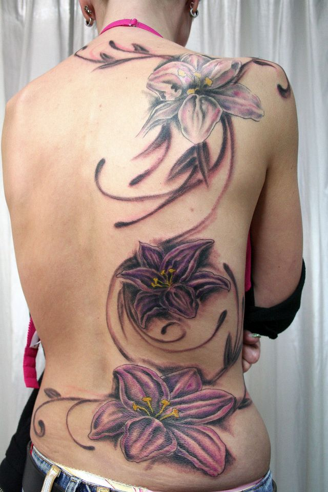 tribal flower tattoo 640x960 00019032 - tribal-flower-tattoo_640x960_00019032