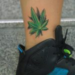 weed tattoo1 650x650 150x150 - Lizard tattoo