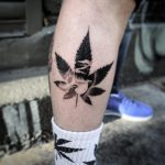 weed tattoo2 650x650 150x150 - Dolphin tattoo